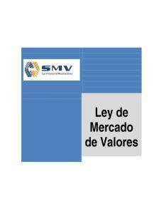 Ley de Mercado de Valores