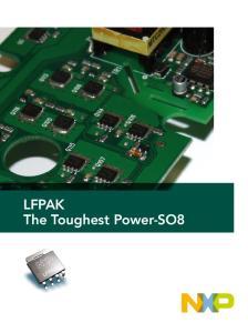 LFPAK The Toughest Power-SO8