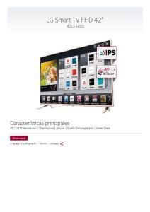 LG Smart TV FHD 42