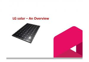 LG solar An Overview
