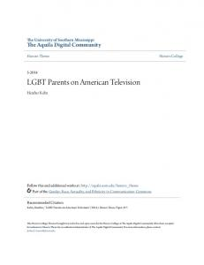 LGBT Parents on American Television