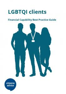 LGBTQI clients. Financial Capability Best Practice Guide
