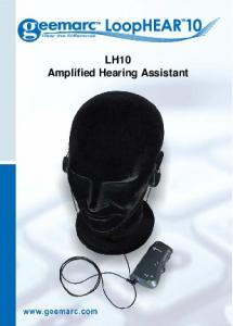 LH10 Amplified Hearing Assistant
