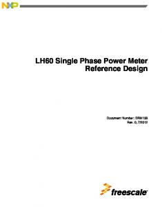 LH60 Single Phase Power Meter Reference Design