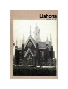 Liahona. Octubre de 1983