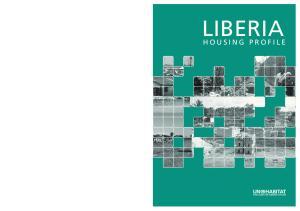 LIBERIA HOUSING PROFILE LIBERIA HOUSING PROFILE