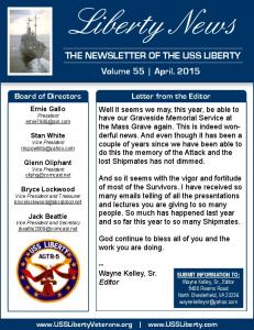 Liberty News THE NEWSLETTER OF THE USS LIBERTY