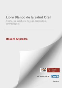 Libro Blanco de la Salud Oral