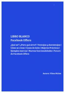LIBRO BLANCO Facebook Offers