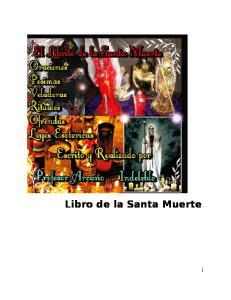 Libro de la Santa Muerte