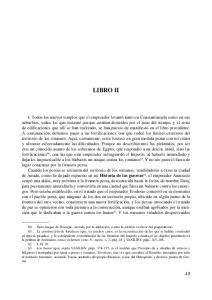 LIBRO II Historia de las guerras