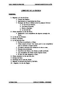LIBRO XII DE LA ODISEA