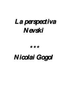 Librodot. Librodot La Perspectiva Nevski Nicolai Gogol