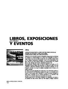 LIBROS, EXPOSICIONES Y EVENTOS
