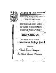 Licenciado en Trabajo Social