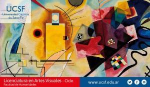 Licenciatura en Artes Visuales - Ciclo Facultad de Humanidades
