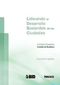 Liderando el Desarrollo Sostenible de las Ciudades