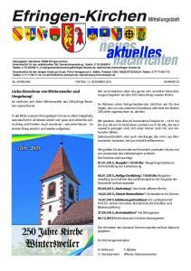 Liebe Einwohner von Wintersweiler und Umgebung!