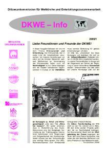 Liebe Freundinnen und Freunde der DKWE!