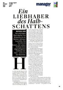 LIEBHABER. des Halb- SCHATTENS DEUTSCHE BANK