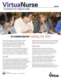 Life-changing education Tackling the BSN