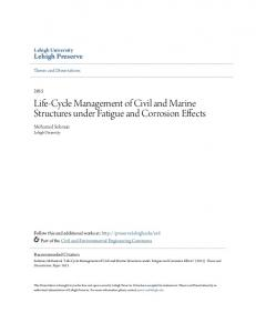 Life-Cycle Management of Civil and Marine Structures under Fatigue and Corrosion Effects