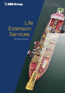 Life Extension Services. Life Cycle Services