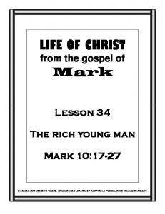 LIFE OF CHRIST from the gospel of
