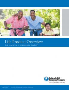 Life Product Overview