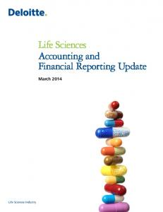 Life Sciences Accounting and Financial Reporting Update