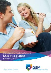 Life Sciences and Materials Sciences