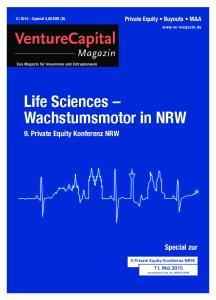 Life Sciences Wachstumsmotor in NRW