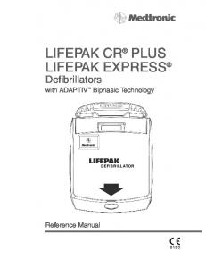 LIFEPAK CR PLUS LIFEPAK EXPRESS