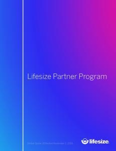 Lifesize Partner Program