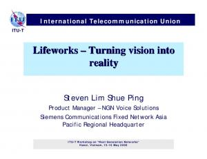 Lifeworks Turning vision into reality