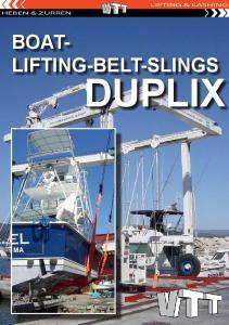 LIFTING & LASHING HEBEN & ZURREN BOAT- LIFTING-BELT-SLINGS DUPLIX