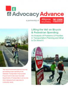 Lifting the Veil on Bicycle & Pedestrian Spending: