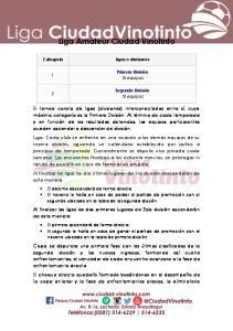 Liga Amateur Ciudad Vinotinto
