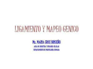 LIGAMIENTO Y MAPEO GENICO