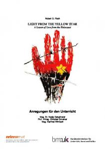 LIGHT FROM THE YELLOW STAR A Lesson of Love from the Holocaust
