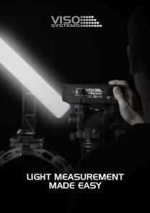 LIGHT MEASUREMENT MADE EASY