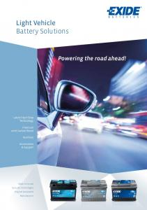 Light Vehicle Battery Solutions