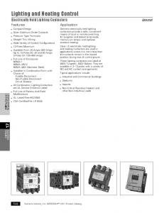 Lighting and Heating Control