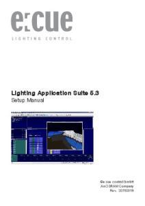 Lighting Application Suite 5.3