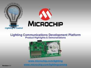 Lighting Communications Development Platform Product Highlights & Demonstrations