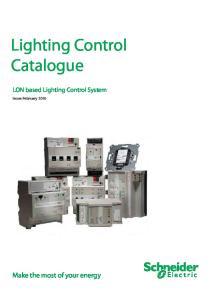 Lighting Control Catalogue