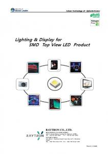 Lighting & Display for SMD Top View LED Product