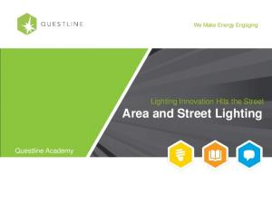 Lighting Innovation Hits the Street Area and Street Lighting
