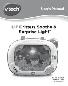 Lil Critters Soothe & Surprise Light TM