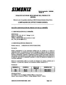 LIMPIADOR DE INYECTORES DIESEL